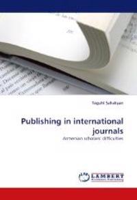 Publishing in International Journals