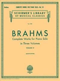 Complete Works for Piano Solo, Volume 3