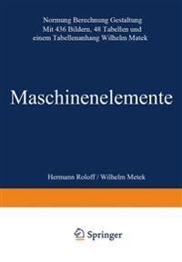 Maschinen Elemente
