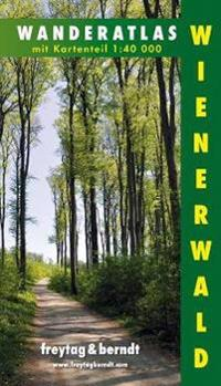 Wienerwald Wanderatlas mit kartenteil 1:40.000
