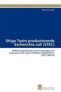 Shiga Toxin-Produzierende Escherichia Coli (Stec)