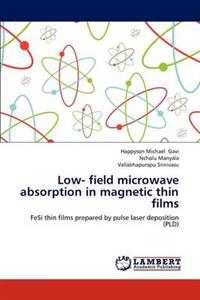 Low- Field Microwave Absorption in Magnetic Thin Films