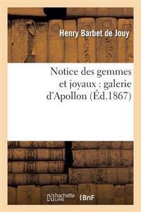 Notice Des Gemmes Et Joyaux