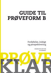 Prøveklar-Guide til prøveform B