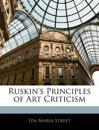 Ruskin's Principles of Art Criticism