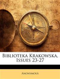 Biblioteka Krakowska, Issues 23-27