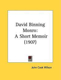 David Binning Monro
