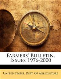 Farmers' Bulletin, Issues 1976-2000