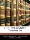 The Observatory, Volume 16