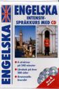 Engelska intensivkurs med CD  (4 cd)