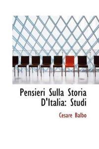 Pensieri Sulla Storia D'italia