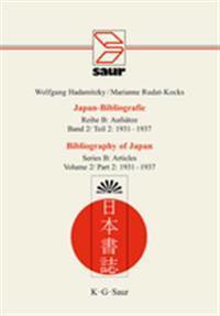 Bibliography of Japan: Verzeichnis Deutschsprachiger Japanbezogener Veroffentlichungen