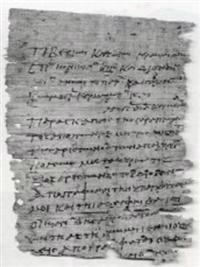 Oxyrhynchus Papyri 76