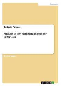 Analysis of Key Marketing Themes for Pepsi-Cola