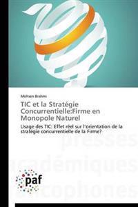 Tic Et La Strat�gie Concurrentielle