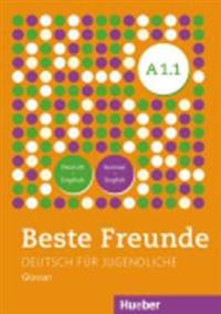 Beste Freunde A1/1. Glossar Deutsch-Englisch  -  German-English