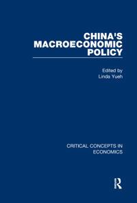 China's Macroeconomic Policy