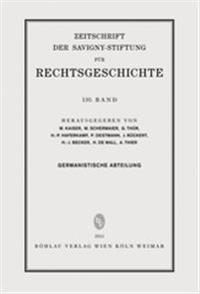 ZRG Germanistische Abteilung 130. Band (2013)