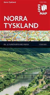 Norra Tyskland EasyMap : 1:550000