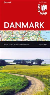 Danmark EasyMap : 1:450000