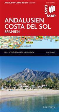 Andalusien Costa del Sol EasyMap : 1:675000