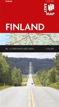Finland EasyMap : 1:725000