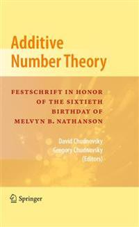 Additive Number Theory