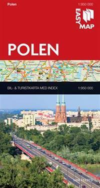 Polen EasyMap : 1:950000