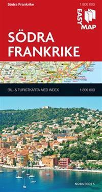 Södra Frankrike EasyMap : 1:800000