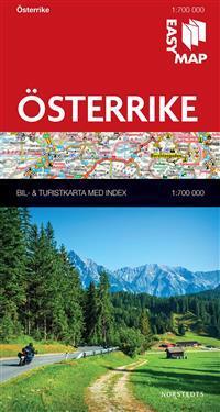 Österrike EasyMap : 1:700000