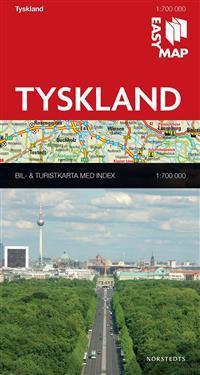 Tyskland EasyMap : 1:700000