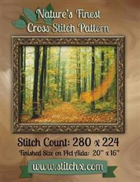 Nature's Finest Cross Stitch Pattern: Pattern Number 005