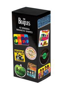 The Beatles Wooden Magnetic Set
