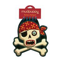 Skull & Crossbones Rainbow Notepad