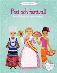 Fest och festival! : pysselbok med klistermärken