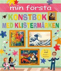 Min första konstbok med klistermärken