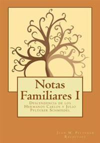Notas Familiares: Descendencia de Los Hermanos Carlos y Julio Pflucker Schmiedel
