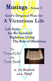 Musings Vol.#1 - A Victorious Life: Musings - Vol.1 a Victorious Life, God's Original Plan