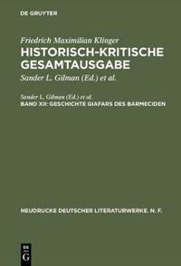 Geschichte Giafars Des Barmeciden