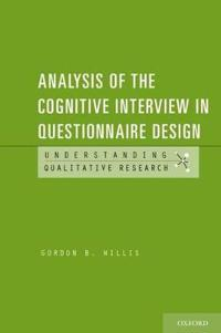 Analysis of the Cognitive Interview in Questionnaire Design