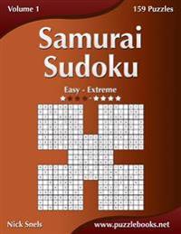 Samurai Sudoku - Easy to Extreme - Volume 1 - 159 Puzzles