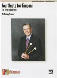 Four Duets for Timpani: For Three to Six Drums