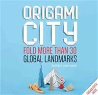 Origami City: Fold More Than 30 Global Landmarks - Origami Paper Inside