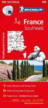 Southeast France Map 2015
