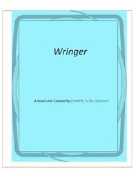 Wringer: A Novel Unit Created by Creativity in the Classroom