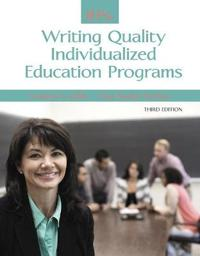 Ieps: Writing Quality Individualized Education Programs