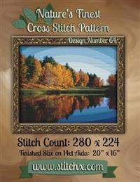 Nature's Finest Cross Stitch Pattern: Design Number 64