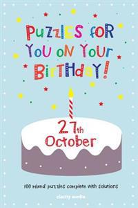 Puzzles for You on Your Birthday - 27th October