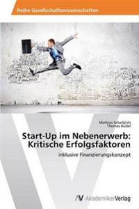Start-Up Im Nebenerwerb