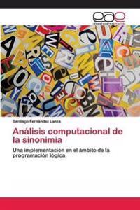 Analisis Computacional de La Sinonimia